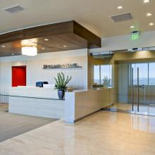 Holland & Hart Reception Area