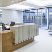 Perkins Coie Reception Desk